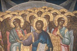 Domnul Iisus Hristos si cetele ingeresti