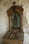 Icoana Sfântului Dimitrie Basarabov (La intrarea în bisericuţă).