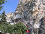 Mănăstirea în stâncă de la Basarabi, unde s-a nevoit Cuviosul Dimitrie cel Nou