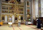 Manastirea Bistrita Valcea, vedere din interior