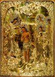 Икона Богоявление Господне - Крещение.